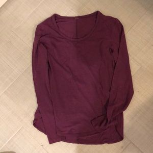 GUC Sz 6 lululemon athletica Long Sleeve
